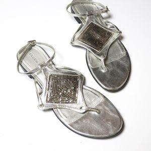 Ellen Tracy | Sequin Toe Gladiator Sandal 9